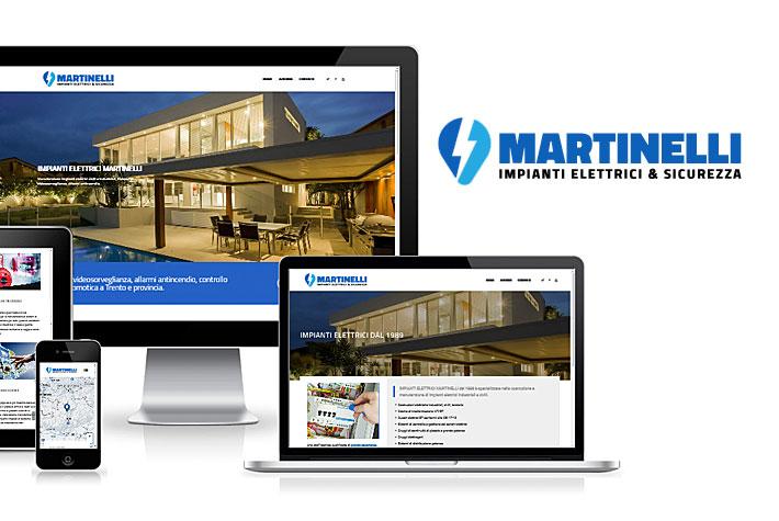Nuovo sito web per martinelli impianti elettrici for Martinelli trento